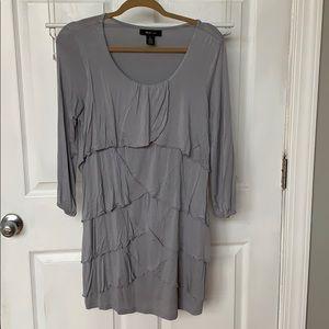 Layered Jersey Dress